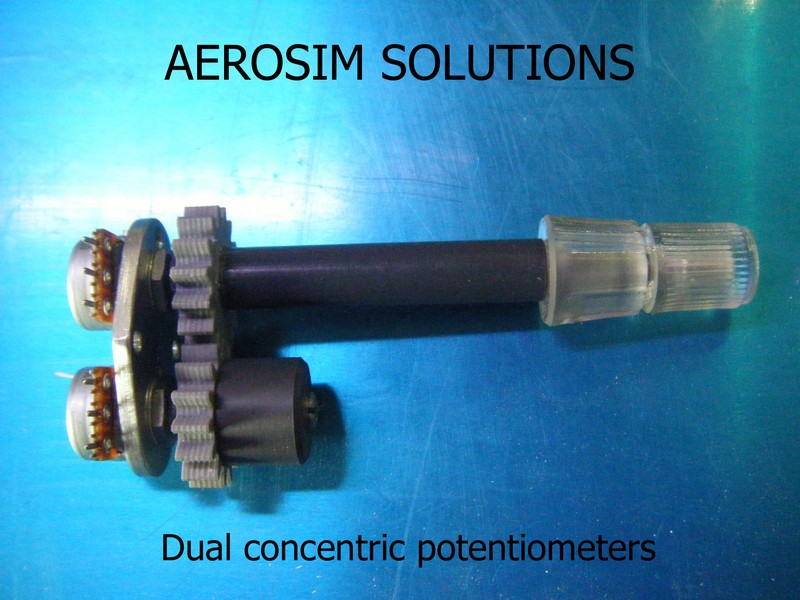 Dual Concentric Potentiometers or Encoders